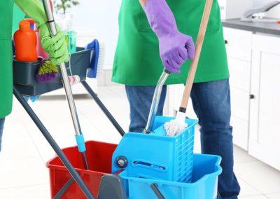 Métiers du nettoyage des locaux