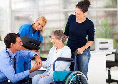 Profession de la santé, soins à la personne, médical et paramédical