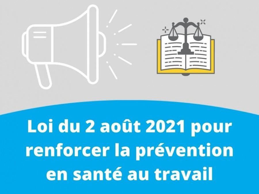 Publication de la loi pour renforcer la prévention en santé au travail : les principales mesures